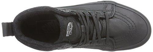 VANS Classic SK8-HI MTE Sneaker skate leater winterboots XH4GZH Nero (Black/l)