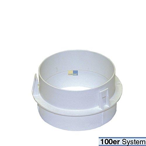 Original Adapter für Anschlussstutzen Trockner 100 mm Ø Miele 6595070