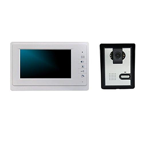 Green House Portiere Videotelefono Campanello del Citofono Video Sorveglianza Monitor della Fotocamera da 7