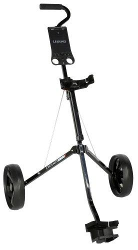 Legend Junior Golf Cart – schwarz. (Golf-tees-adjustable)