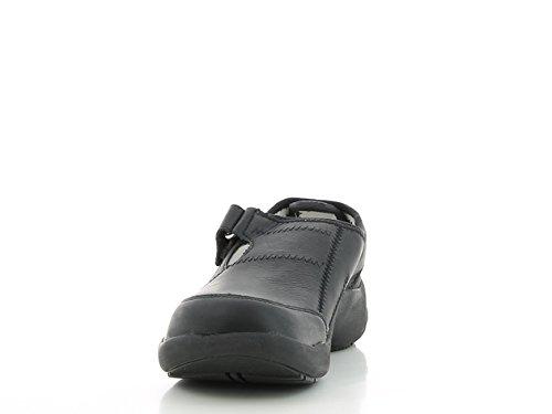 Oxypas Ultralite 'Miranda Leichte waschbare Nursing Schuhe mit Anti Rutsch und Anti Statik Schwarz