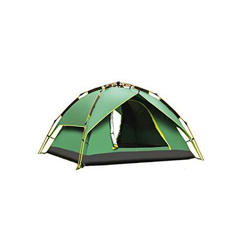 Green,DESERTCAMEL CS070-3 Drei-verwendetes automatisches Zelt-regendichtes Zelt für 2 Personen (Farbe: Grün)
