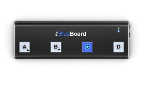 IK Multimedia iRiBlueBoard Pédalier MIDI sans fils Bluetooth pour iPad/ iphone / mac - Noir