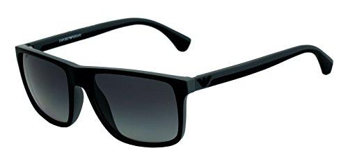 Emporio Armani Square Sunglasses (Black) (Ea 4033 5229/T3 3P) image