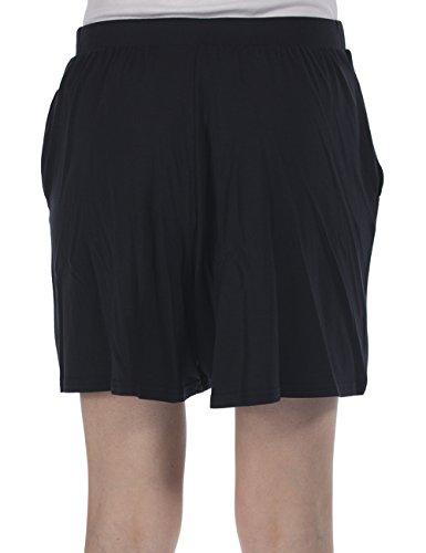 Bench Cullote Ii - Short - Femme Noir - Schwarz (Jet Black BK014)