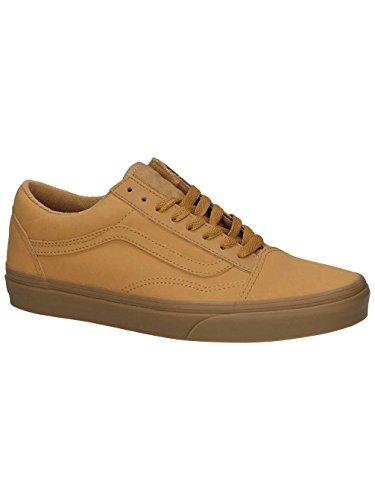 Vans UA Old Skool, Sneakers Basses Homme (vansbuck) light gum/mono
