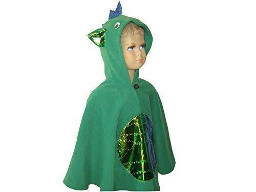 lloween kostüm cape für kleinkinder drache grün ()