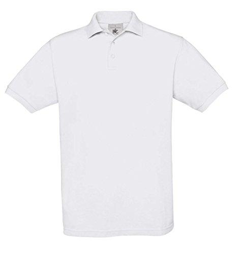 B&CDamen Poloshirt Weiß - Weiß