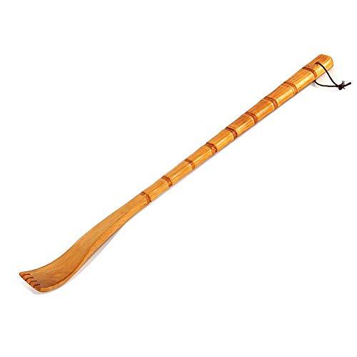 Similitwell - Rascador de Madera terapéutico con Rodillo de Masaje, diseño de rascar la Espalda para rascar el picor