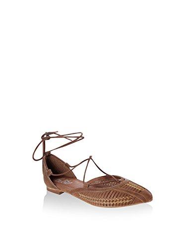 Gusto Donna Scotch sandali Cuoio