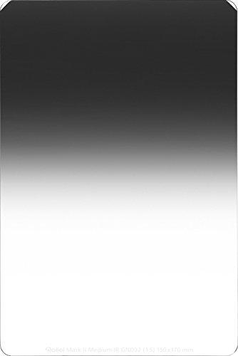 Rollei Profi Rechteckfilter Mark II - Grauverlaufsfilter (150x170 mm) mit mittlerem Verlauf aus Gorilla Glas - Medium GND 32 (5 Stops/1,5) 150 mm-System