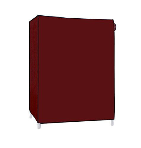 Pindia Shoe cabinet , 4-5 Layer Maroon Shoe Rack Organizer