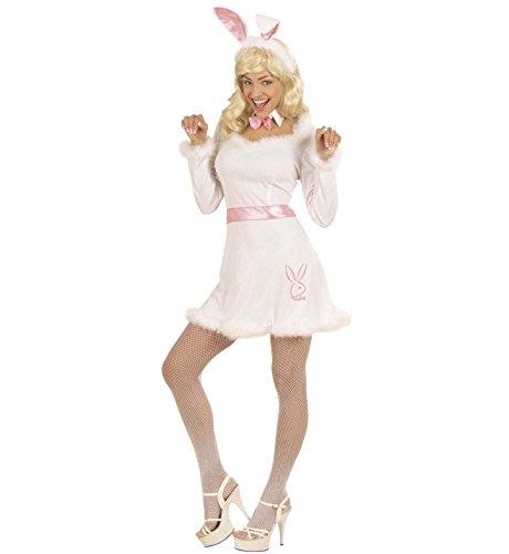 Kostüm White Bunny - weißes Häschen Gr. S = 36