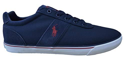 Ralph Lauren Sneakers Schuhe Hanford NE Dunkelblau Synthetik Leder (44 EU)