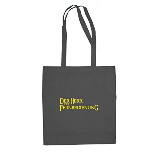 Herr der Fernbedienung - Stofftasche / Beutel Grau