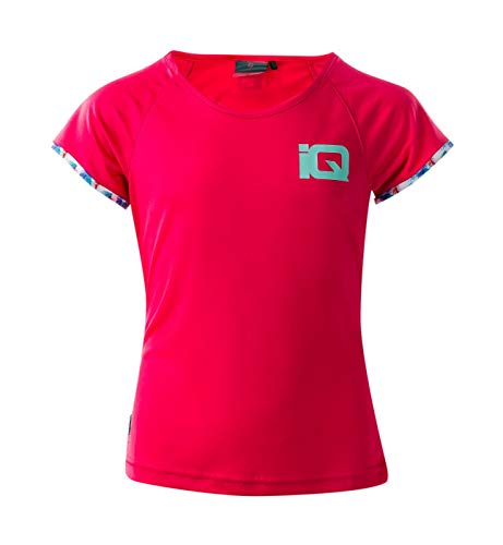 Intelligence Quality Mädchen Miho JRG Funktions T-Shirt, Rouge Red, 146 -