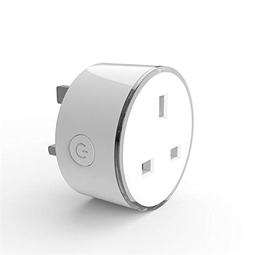 LUCKY CLOVER-A Smart Plug WiFi Smart Steckdose Power Monitor EU USA UK Korea Steckdose funktioniert mit Google Home Mini Alexa IFTTT, 33 * 58MM