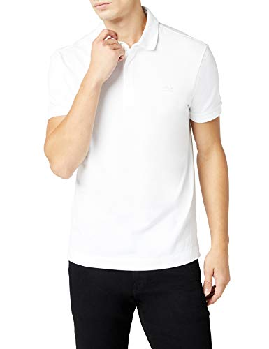 Lacoste Herren Ph5522 Poloshirt, Weiß (Blanc), X-Large - Authentic Polo-shirts