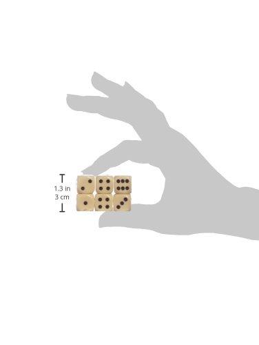 Wrfel-Set-Elfenbein-W6-6-Wrfel