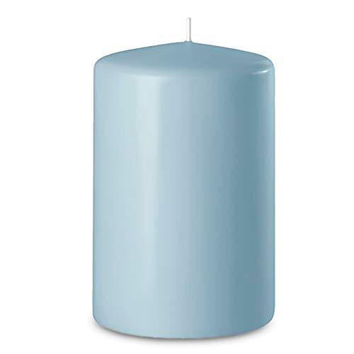 Wenzel: Stumpenkerzen 60/40 mm (Safe Candle) - 24 Stück - (Eisblau)