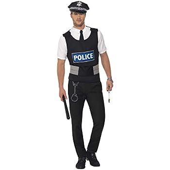 Smiffys Déguisement Homme Kit de Policier 4d90f622d6c