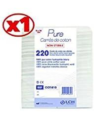 Carrés De Coton 100% Coton Hydrophile Le Sachet De 200 Carrés 8 X 10 Cm - Cot-810 - By Antigua Health Care