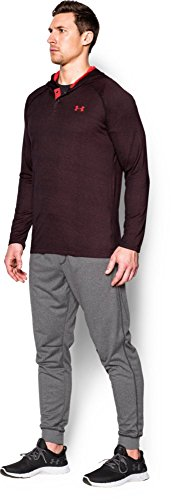 Under Armour, Maglia con cappuccio, in materiale tecnico Brown