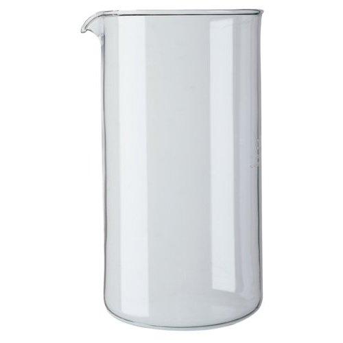 Bodum 1508-10 - Repuesto de cristal para cafetera, 8 tazas, transparen