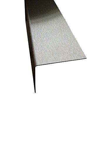 Kantenschutz Edelstahl 2,5 Meter 0,8 mm stark, Fliesen L-Winkel (25 x 25 x 0,8 mm)