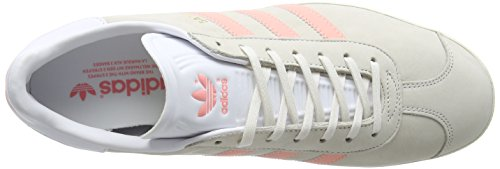 adidas Damen Gazelle Sneakers Grau (Chalk White/still Breeze/footwear White)