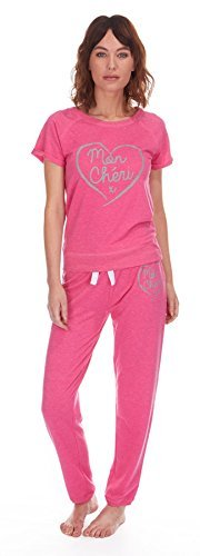 Forever Dreaming -  Pigiama due pezzi  - Donna Pink