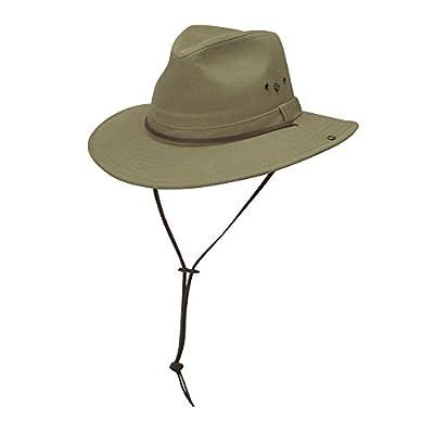 UV hat for Men from Dorfman Pacific - Kaki