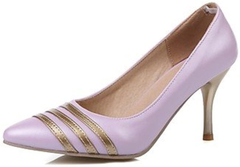 Zormey Women'S Shoes Stiletto Heel/Pointed Toe Heels Party &Amp; Evening/Dress Blue/Pink/Purple/White Purple Us11.5...