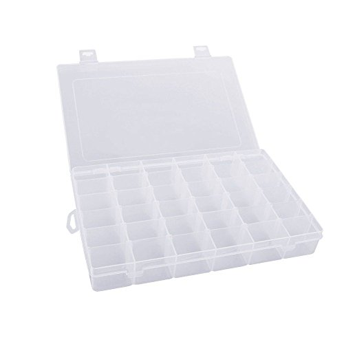 mobengo-36-grids-clear-plastic-jewelry-box-organizer-storage-container-with-removable-dividers