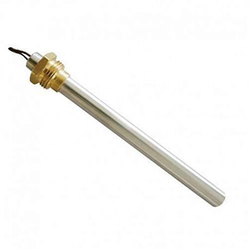 Widerstand Zündkerze Zündung für Pelletofen 250W 150mm 140mm; Durchmesser 9,9mm; Gewinde 3/8; Für LAMINOX–PALAZZETTI–Puros–Rika