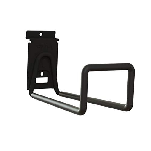 LIOOBO Fahrradträger Wandhaken Wandhalterung Fahrradhalterung Aufhänger Fahrradzubehör (Schwarz)