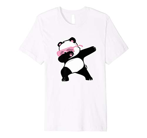 e014d28a4e5fc2 Dabbing Panda Dab Dance Tanz Hip-Hop T-Shirt Mädchen Jungen