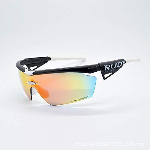 ANSKT Sportbrillenbeschichtung, 4UV 400 Outdoor-Sportbrillen polarisierte Sonnenbrillen Reitbrillen, geeignet zum Skifahren von Golf-Bikes beim Fischen mit Baseball