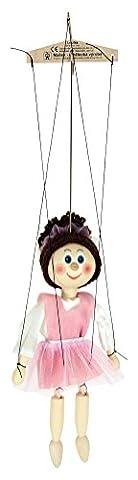ABA 20cm jouet en bois Ballerine Marionnette (Multicolore)