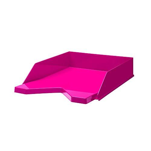 Jalema 7435421Vaschette Portacorrispondenza Fashion-Portacorrispondenza in polistirolo, confezione da 10pezzi, A4, colore: rosa