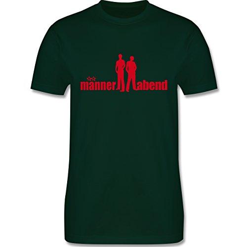 JGA Junggesellenabschied - Männerabend - Herren Premium T-Shirt Dunkelgrün