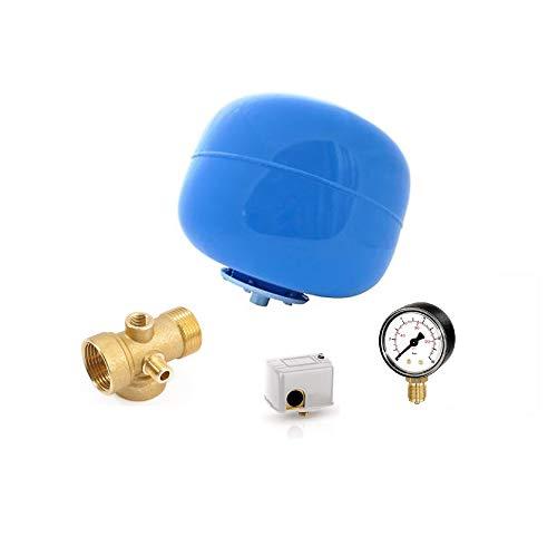 Kit para autoclave compuesto de hidroesfera, conector de 5vías, manómetro, teflón e interruptor...