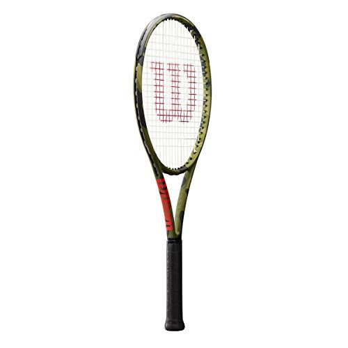 Wilson - Blade 98 L Camo Raquette de Tennis (Vert)