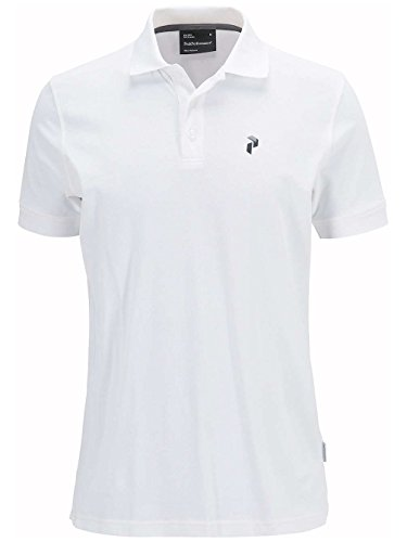 Herren T-Shirt Peak Performance Tech Polo White