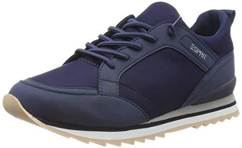 ESPRIT Damen Astro Jersey LU Sneaker, Blau (Navy 400), 39 EU