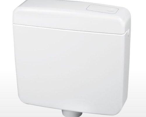 Spülkasten mit STOP / SPARTASTE inkl. MONTAGEMATERIAL, Weiß