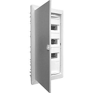 ABN Braun-Ras-Verteilung montiert 3filas. mit der Tür