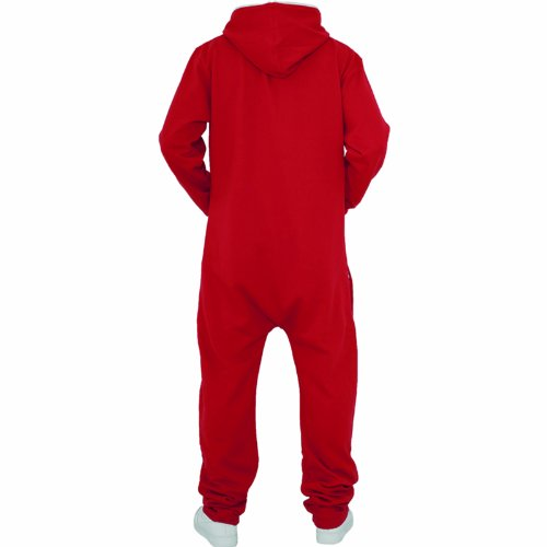 Urban Classics - Salopette - Relaxed Homme Rouge - Rot - Rot - Rot