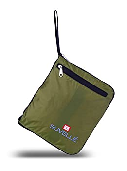 "Suvelle Lightweight 21"" Travel Foldable Duffel Bag For Luggage Gym Sports Water Resistant Nylon Duffle 7"