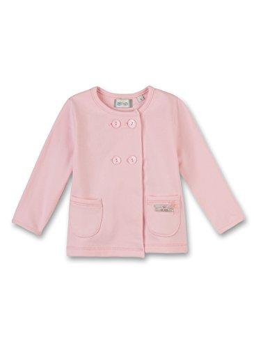 Sanetta Baby-Mädchen Sweatjacke 113825-3948 bleached rose Gr.74